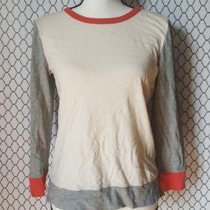 J Crew Artist T Long Sleeve Shirt Size Med